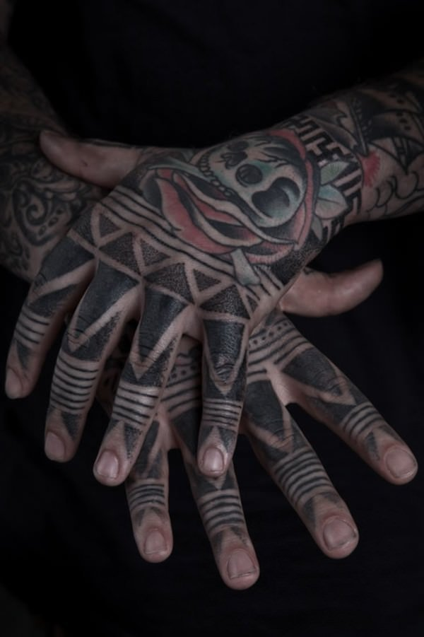 Finger Tattoos 2