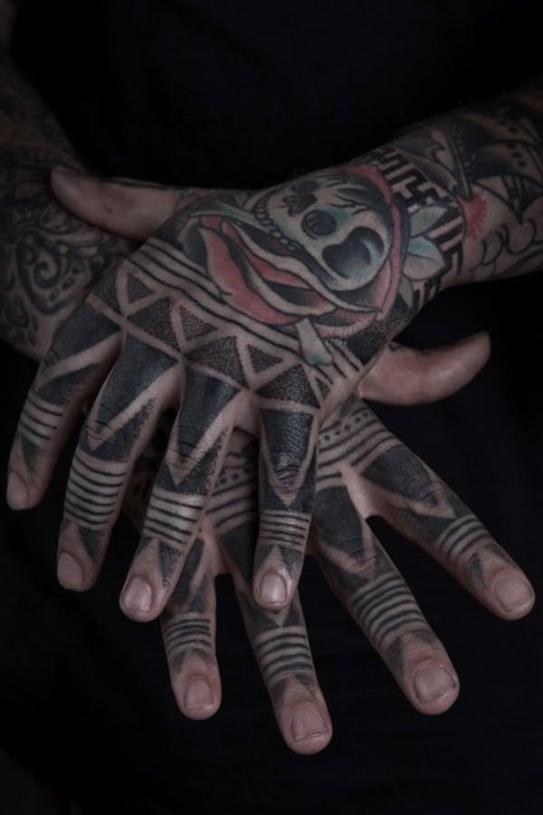 Finger Tattoos 2