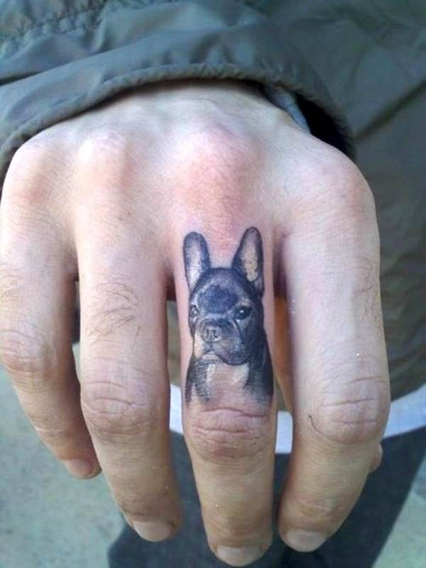 Finger Tattoos 20