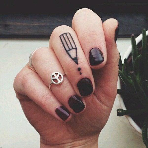 Finger Tattoos 298