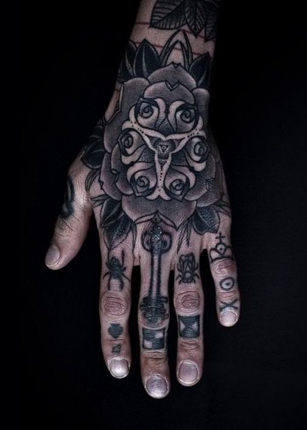Finger Tattoos 3