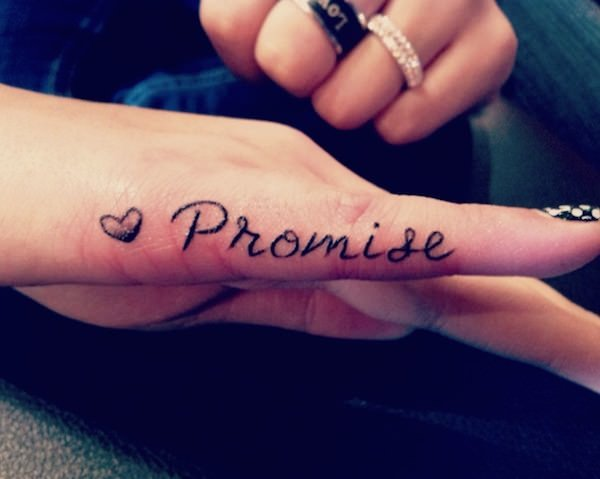 Finger Tattoos 33