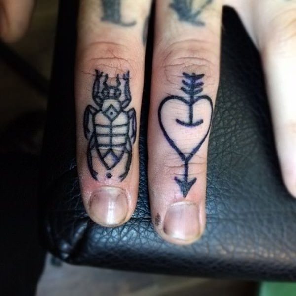 Finger Tattoos 9