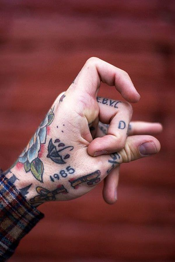 finger tattoos 42