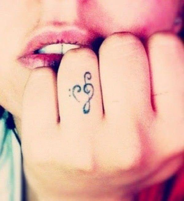finger tattoos 50