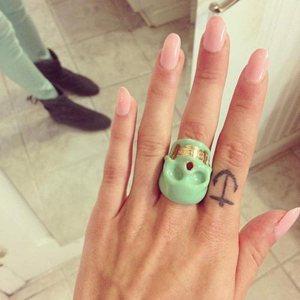 65 Fun Fierce And Funky Finger Tattoos