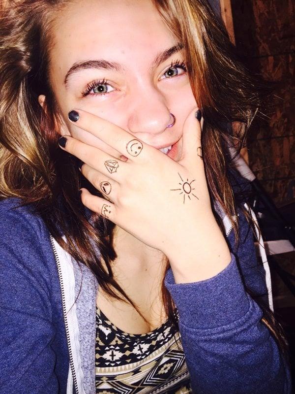 finger tattoos 66
