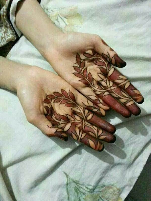 finger tattoos henna