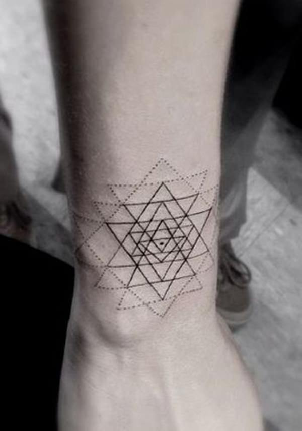 sacred geometry tattoo 10