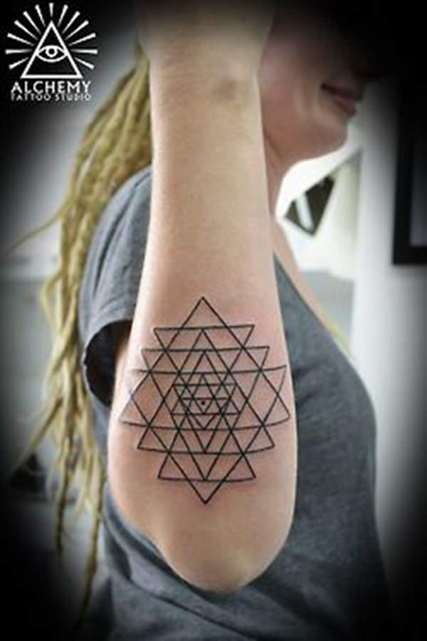 sacred geometry tattoo 22