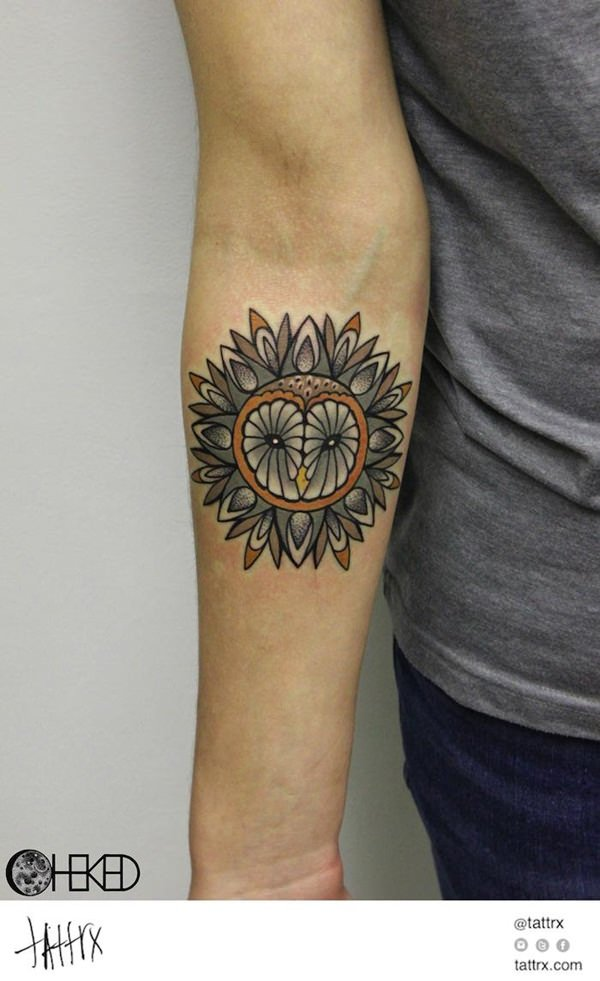 sacred geometry tattoo 31