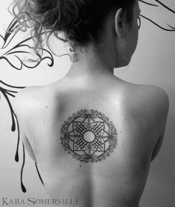 sacred geometry tattoo 32