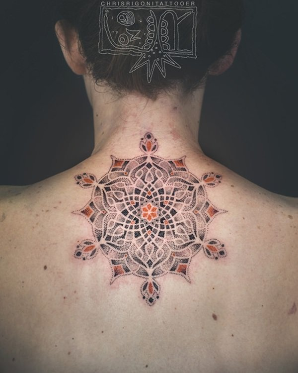 sacred geometry tattoo 34
