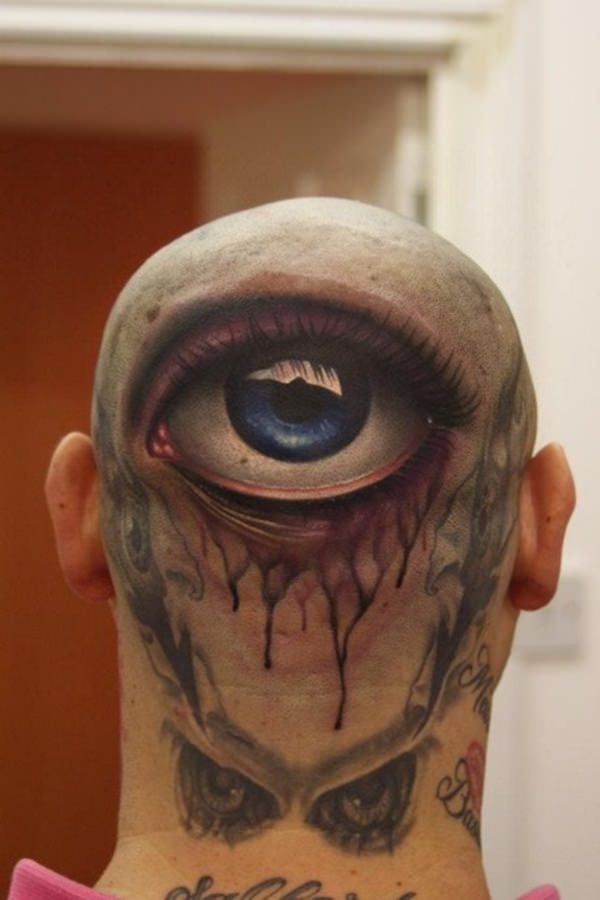 3d tattoos that will shock and amaze you for Eye tattoo art