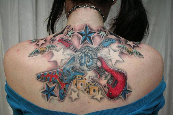 Star Tattoos tattooeasily 26