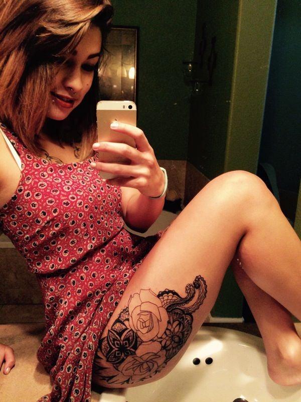 lace tattoo 3