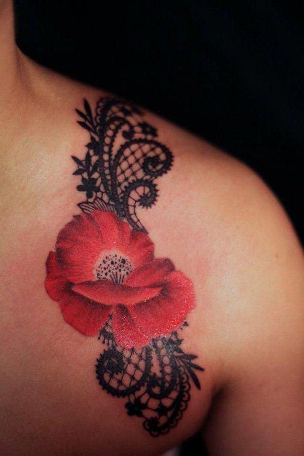 lace tattoo 8