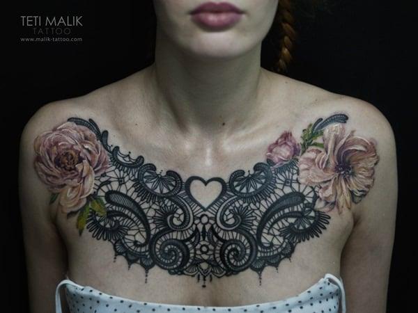 lace tattoo 9