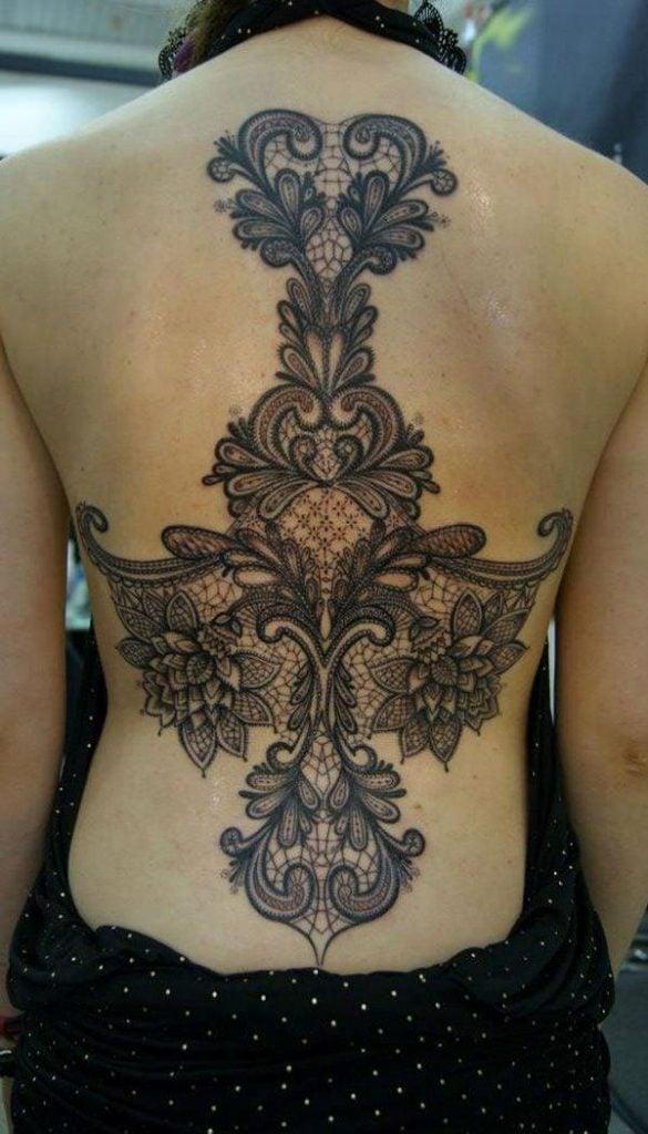 lace tattoos 18