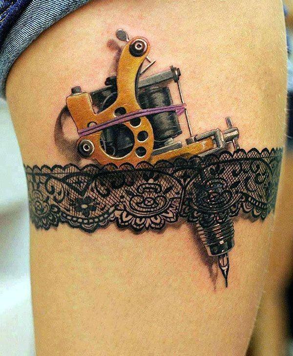 lace tattoos 23