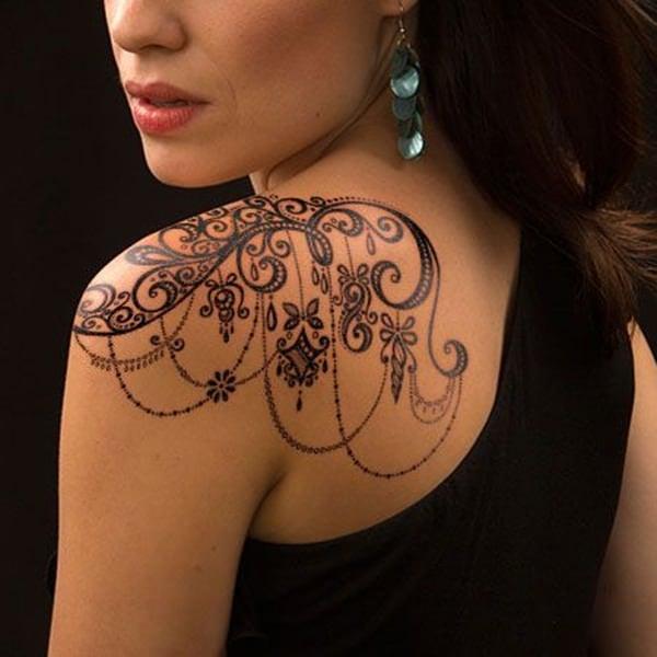 lace tattoos 33