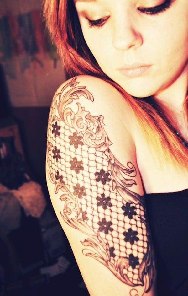 lace tattoos 35