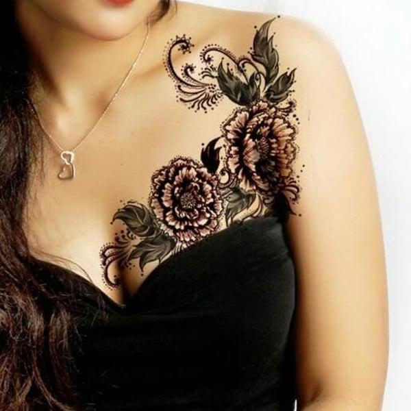 lace tattoos 45