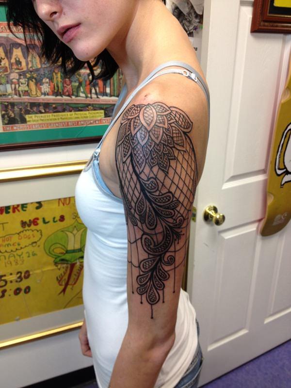 lace tattoos 47