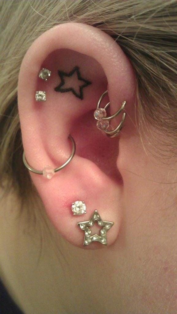 star tattoos 5