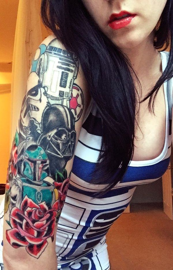 star war tattoos