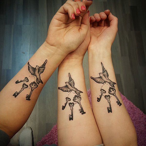 61 endearing sister tattoo designs with meaning ForSisters Tattoo Designs