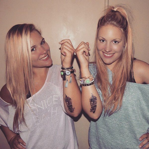 61 Endearing Sister Tattoo Designs (with Meaning