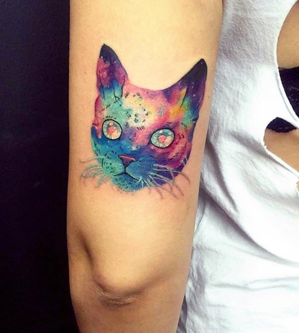 117 Cat Tattoos That Are Way Too Purrfect
