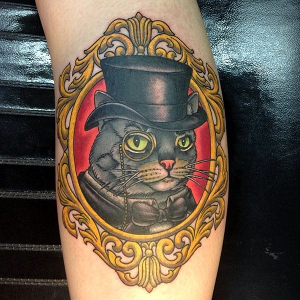 117 cat tattoos that are way too purrfect for Cat eyes tattoo designs