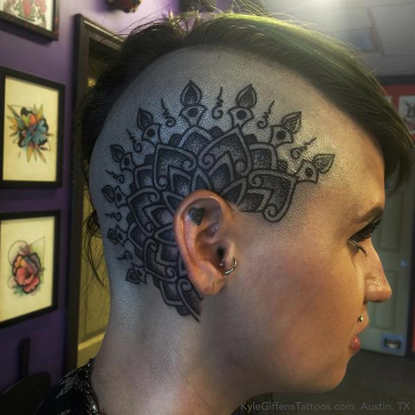 mandala head
