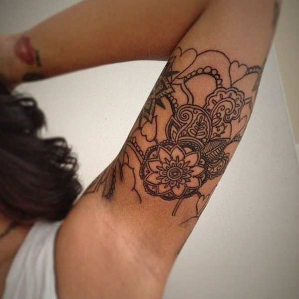53 top mandala tattoos of all time. Black Bedroom Furniture Sets. Home Design Ideas