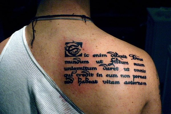 45 inspirations for bible verse tattoos