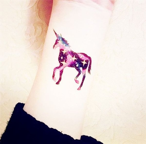 48 Impressive Unicorn Tattoos