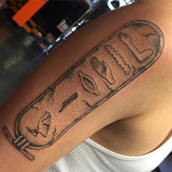 45 Egyptian Tattoos That Are Bold And Fierce With Meaning