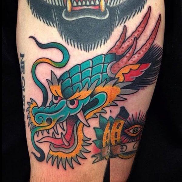 1-dragon tattoos