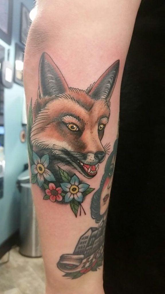 10 Fox Tattoos tattoos