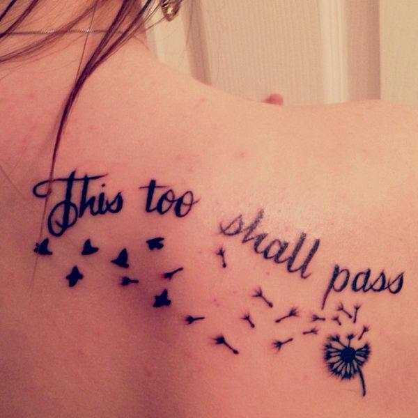 25 this too shall pass tattoo designs that are hauntingly