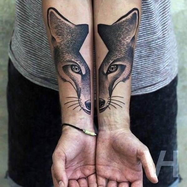 12 Fox Tattoos tattoos