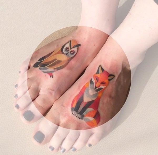 45 Fox Tattoos (Eye Ca...