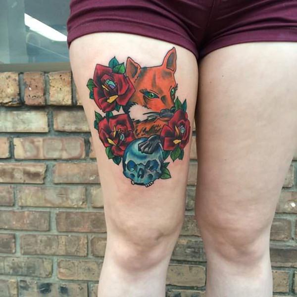 15 Fox Tattoos tattoos