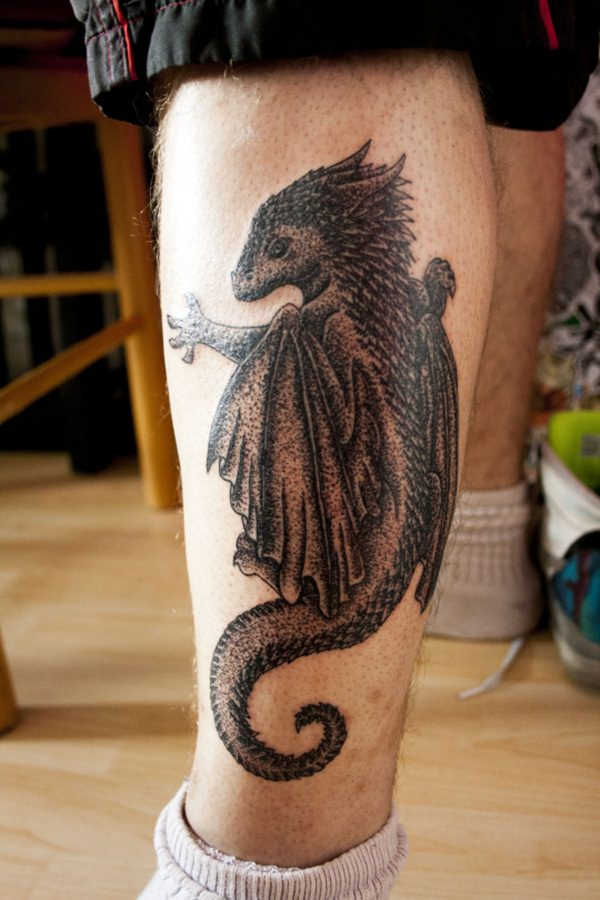16-dragon tattoos