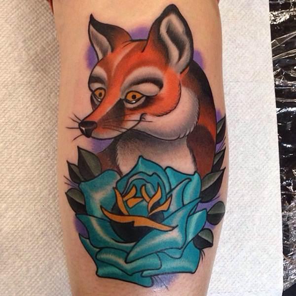 16 Fox Tattoos tattoos