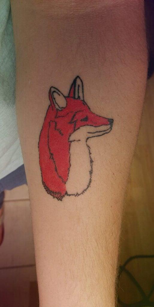 18 Fox Tattoos tattoos