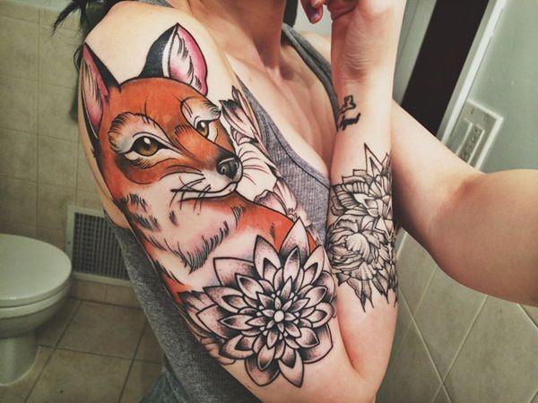 20 Fox Tattoos tattoos