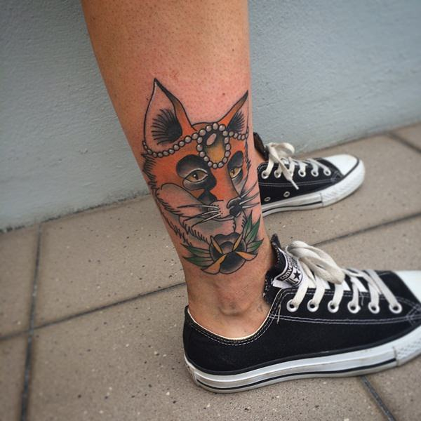 21 Fox Tattoos tattoos